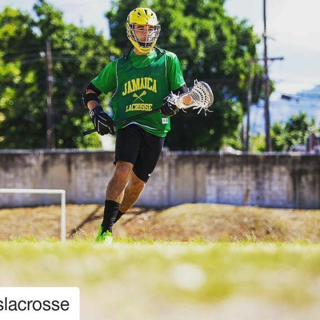 Repost uslacrosse Khristian Marley grandson of Bob Marley finds hishellip