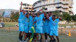 On the boys side, STGC was crowned as the first ever Taino Cup Champs!
