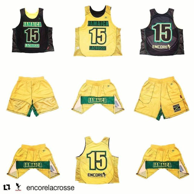 Repost encorelacrosse  jamaicalacrosse EncoreBrandFinish Lacrosse Sportswear