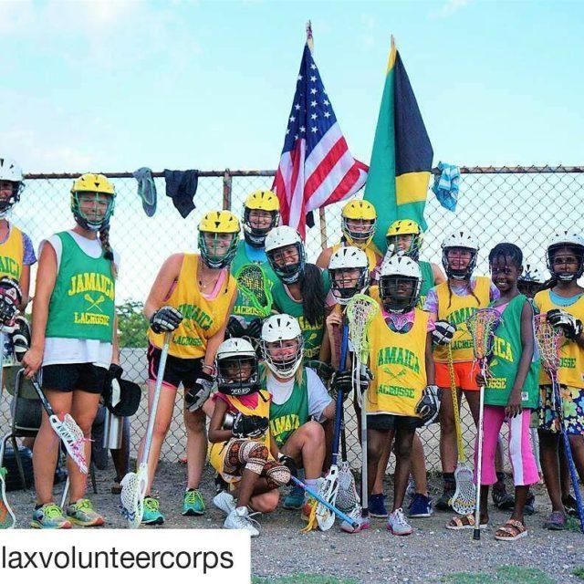 Repost laxvolunteercorps USA x JAMAICA x ONE LOVE Ladies havinghellip
