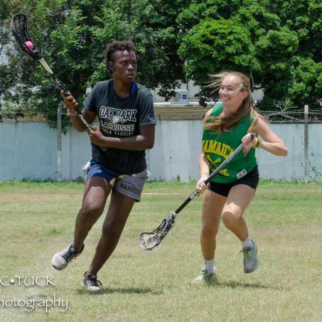 Both the Jamaican womens team and USA are getting readyhellip