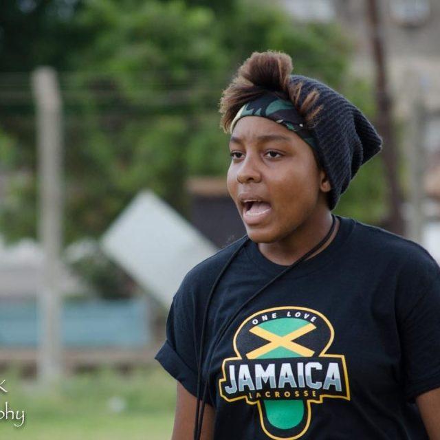 Jamaican lacrosse playercoach Monique Morrison coached the Jamaican team inhellip