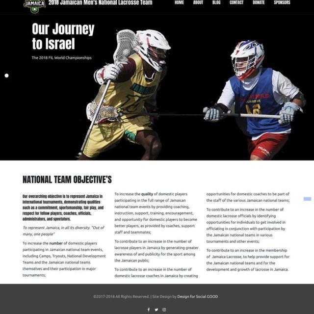 Team Jamaica 2018 launches our new website as we preparehellip