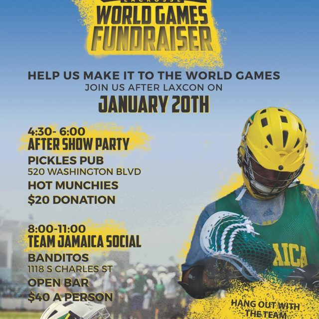 Two great events to support Team Jamaica players and coaches!hellip