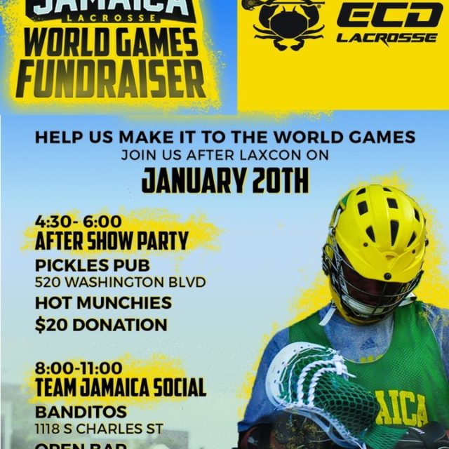 BIG UP to the guys ecdlax for supporting Team Jamaicahellip